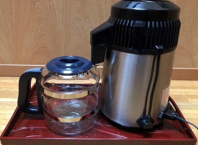 メガホーム社の蒸留水器